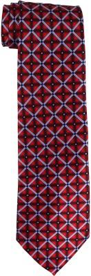 DnH Dnh Men,S Printed Normal Necktie Red B320 Printed Men's Tie