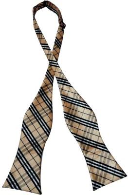 Navaksha Self Bow Checkered Men,s Tie
