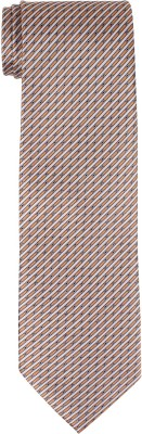 DnH Dnh Men,S Printed Normal Necktie White Brown B315 Printed Men's Tie