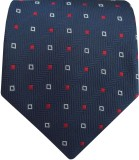 Silk and Satin Checkered Men's Tie