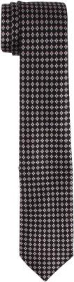 DnH Dnh Men,S Printed Normal Necktie Black B326 Printed Men's Tie