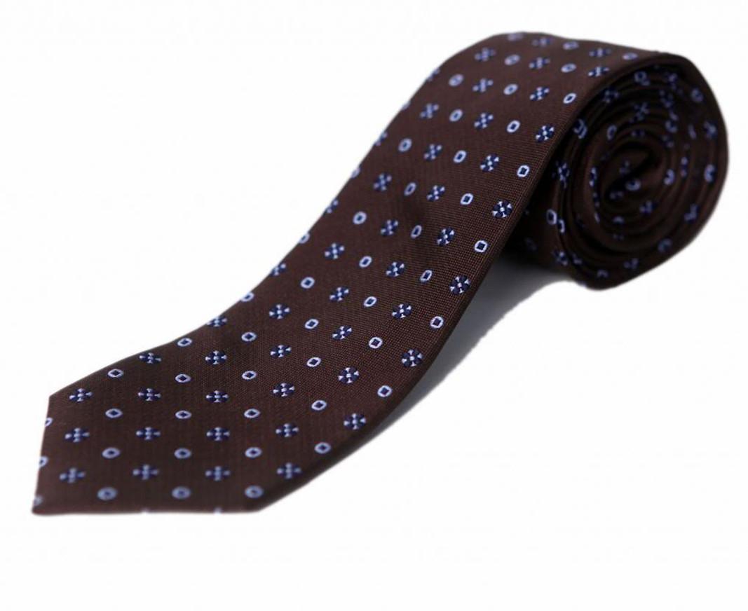 Blacksmith Floral Print Mens Tie