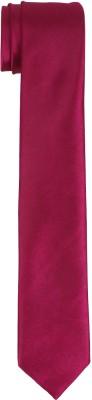DnH Dnh Men,S Plain Necktie Pink B336 Solid Men's Tie