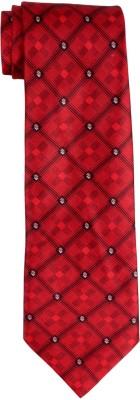 DnH Dnh Men,S Printed Normal Necktie Red B321 Printed Men's Tie