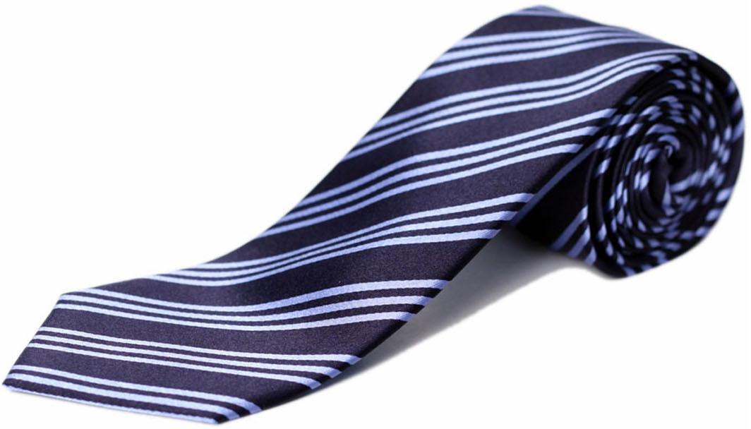 Blacksmith Striped Mens Tie
