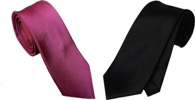 WSD Solid Tie(Pack of 2) at flipkart