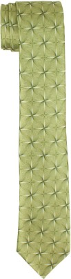DnH Dnh Men,S Printed Normal Necktie Green B327 Printed Men's Tie
