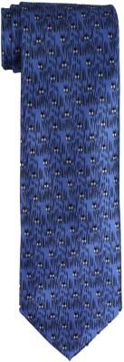 DnH Dnh Men,S Printed Normal Necktie Blue B318 Printed Men's Tie
