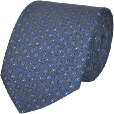 Paranoid Geometric Print Tie