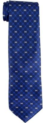 DnH Dnh Men,S Printed Normal Necktie Royal Blue B317 Printed Men's Tie