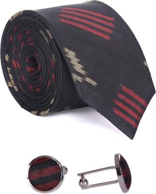 Indian Artizans Geometric Print Tie