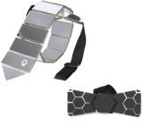 QUAD Solid, Self Design Tie (Pack of 2)