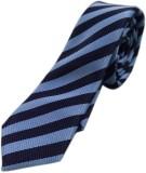 Blacksmithh Corporate Navy Blue Striped ...