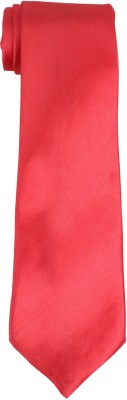 DnH Dnh Men,S Plain Broad Necktie Olympia Red B310 Solid Men's Tie