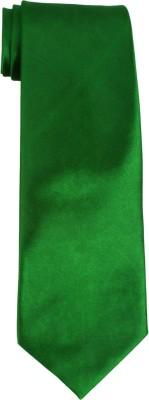 DnH Dnh Men,S Plain Broad Necktie Bottle Green B311 Solid Men's Tie