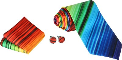 Krio Designs Striped Tie