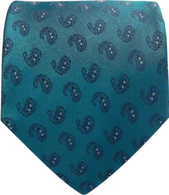 SilkandSatin Floral Print Tie