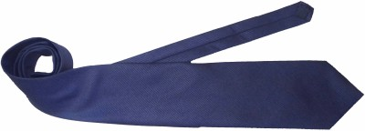 Blue Shine Solid Men's Tie