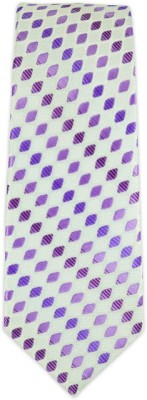 The Tie Hub Rambling Diamond Self Design Men's Tie