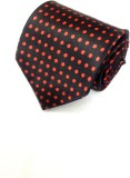 Business Tycoons Polka Print Men's Tie