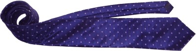 Blue Shine Polka Print Men's Tie