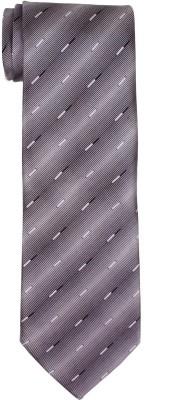 DnH Dnh Men,S Printed Normal Necktie Grey B323 Printed Men's Tie