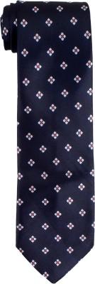 DnH Dnh Men,S Printed Normal Necktie Oxford Blue B316 Printed Men's Tie