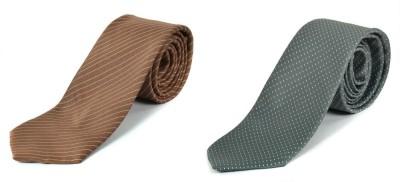 Paranoid Striped, Polka Print Men's Tie