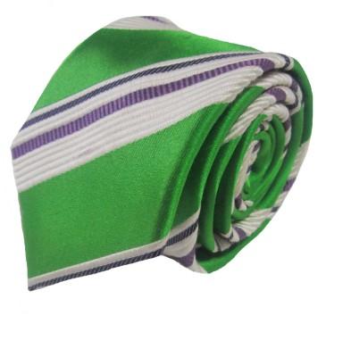 Rossini Striped, Solid Men's Tie