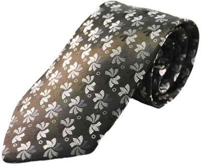 Merastore Floral Print Men's Tie