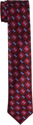 DnH Dnh Men,S Printed Normal Necktie Red B332 Printed Men's Tie