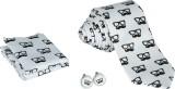 Krio Designs Printed Tie (Pack of 4)