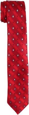 DnH Dnh Men,S Printed Normal Necktie Red B328 Printed Men's Tie