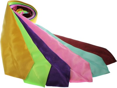 Kurtzy Proffessional Satin Silk Solid Men's Tie