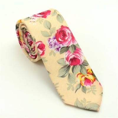 MIVERA Floral Print Tie