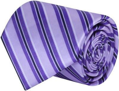CorpWed Purple Delight Striped Men's Tie