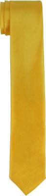 DnH Dnh Men,S Plain Necktie Yellow B338 Solid Men's Tie