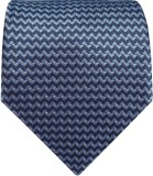 Silk and Satin Geometric Print Men's Tie