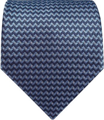 Silk and Satin Geometric Print Men's Tie