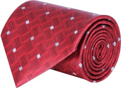 CorpWed Stylish Charm Self Design Men's Tie