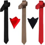 Greyon Solid Tie (Pack of 5)