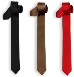 Jars Collections Solid Men's Tie (Pack o...