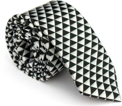 Urban Diseno Geometric Print Men,s Tie