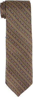 DnH Dnh Men,S Printed Normal Necktie Brown B313 Printed Men's Tie