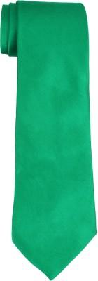 DnH Dnh Men,S Plain Broad Necktie Green B312 Solid Men's Tie