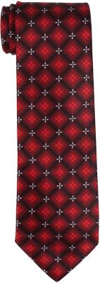 DnH Dnh Men,S Printed Normal Necktie Red B319 Printed Men's Tie