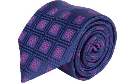 Laurent Benen Geometric Print Tie