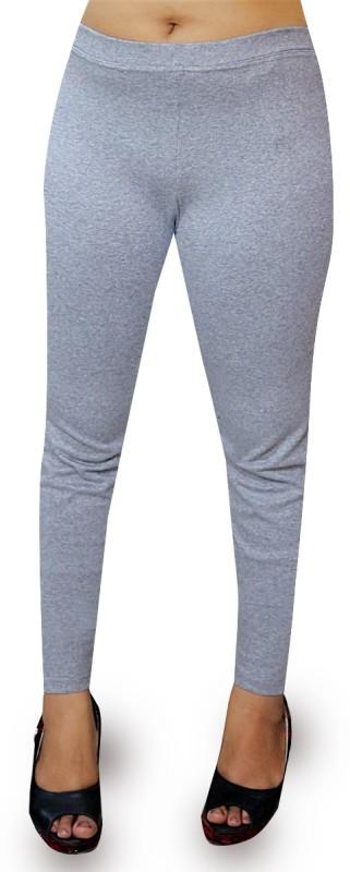 O' Womaniyah! Solid Women's Grey Tights
