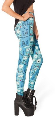Glam Quotient Printed Women's Full Length Tights