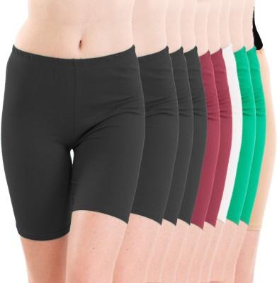 Meril Solid Women's short tights Tights